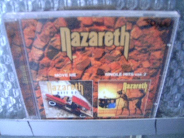 NAZARETH move me single hits vol.2 CD 1994 ROCK