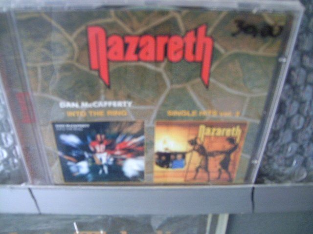 NAZARETH dan mccafferty into the ring single hits vol.3 CD 1987 1975-1986  ROCK