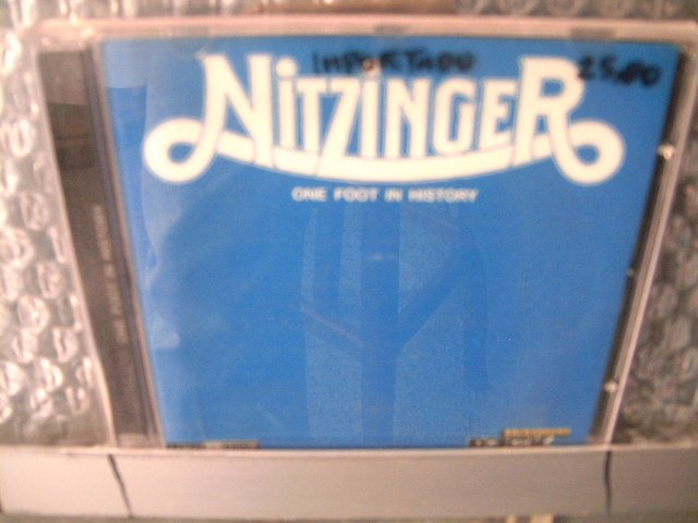 NITZINGER one foot in history CD 1973 ROCK