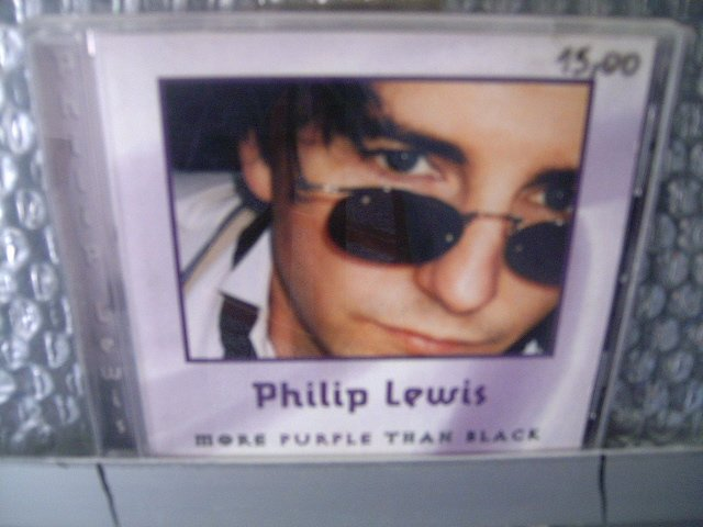 PHILIP LEWIS more purple than black CD ? POP ROCK