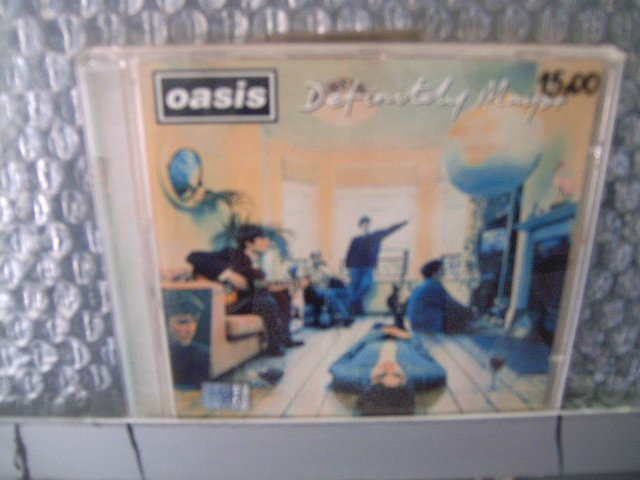 OASIS definitive maybe CD 1994 ROCK