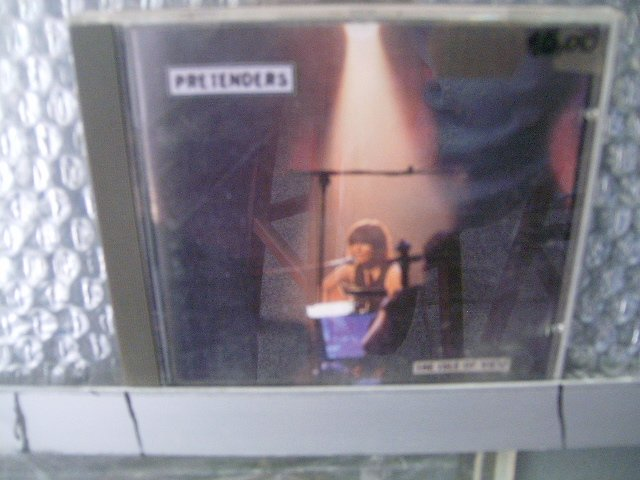 PRETENDERS the isle of view CD 1995 POP POS PUNK