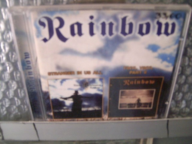 RAINBOW stranger in us all finyl vinyl part 2 CD 1995 1986 HARD ROCK