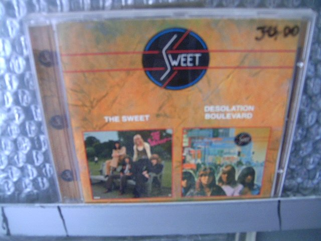 SWEET the sweet desolation boulevard CD 1972 1974 GLAM ROCK