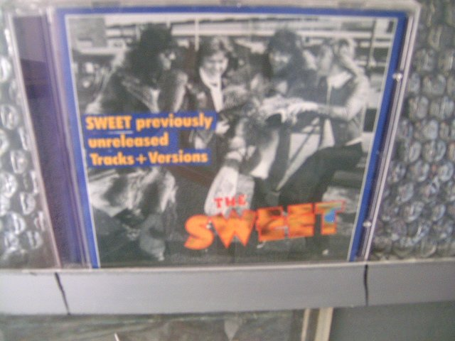 THE SWEET previously unreleased tracks + versions CD 2001 GLAM ROCK