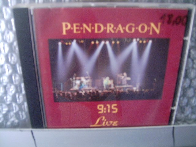 PENDRAGON '9;15' live CD 1986 PROGRESSIVE ROCK
