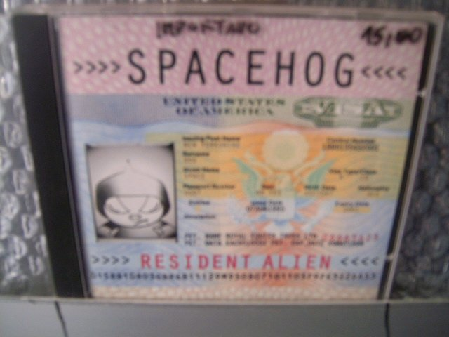 SPACEHOG resident alien CD 1995 ALTERNATIVE ROCK