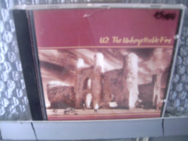 U2 the unforgettable fire CD 1990 POP ROCK