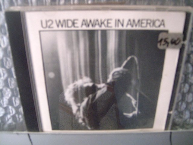 U2 wide awake in america CD 1984 POP ROCK
