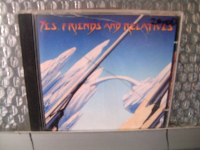 YES, FRIENDS & RELATIVES yes, friends & relatives 2CD 1998 PROGRESSIVE ROCK