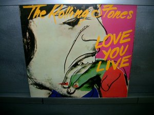 THE ROLLING STONES love you live 2LP 1977 ROCK**