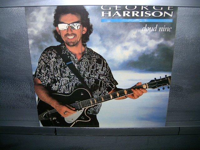 GEORGE HARRISON cloud nine LP 1988 ROCK**