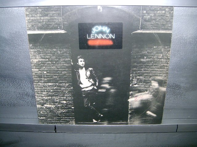 JOHN LENNON rock n' roll LP 1975 ROCK MUITO RARO VINIL