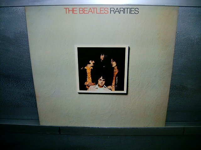 THE BEATLES rarities LP 1980 ROCK MUITO RARO VINIL