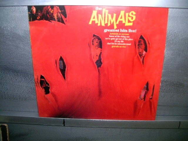 THE ANIMALS live greatest hits! LP 1984 ROCK*
