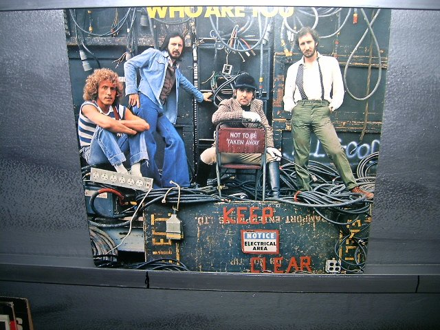THE WHO who are you LP 1978 ROCK**