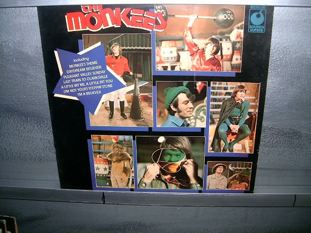 MONKEES best of LP 1967 ROCK MUITO RARO VINIL