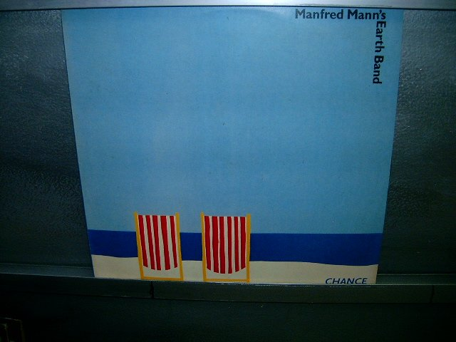 MANFRED MANN'S EARTH BAND chance LP 1980 ROCK**