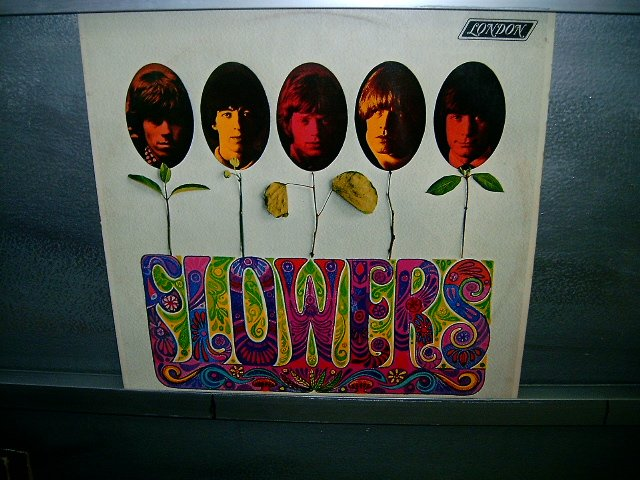 THE ROLLING STONES flowers LP 1981 ROCK EXCELENTE MUITO RARO VINIL