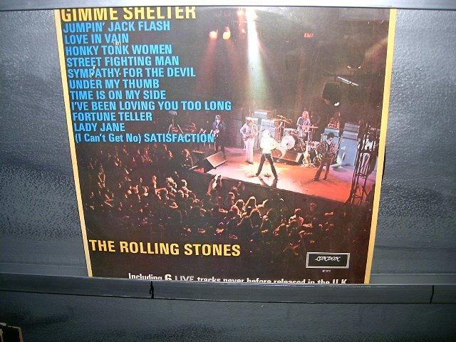 THE ROLLING STONES gimme shelter LP 1972 ROCK EXCELENTE MUITO RARO VINIL