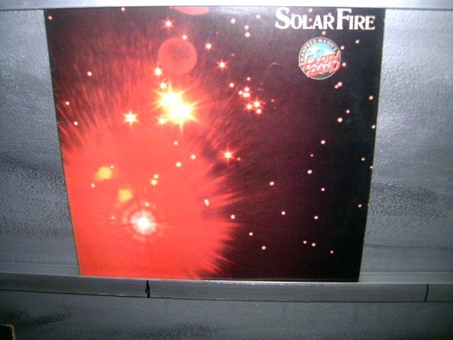 MANFRED MANN solar fire LP 1974 ROCK MUITO RARO VINIL