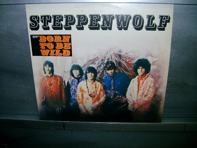 STEPPENWOLF born to be wild LP 1983 ROCK SEMI-NOVO MUITO RARO VINIL