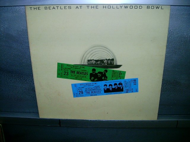 THE BEATLES the beatles at the hollywood bowl LP 1977 ROCK MUITO RARO VINIL