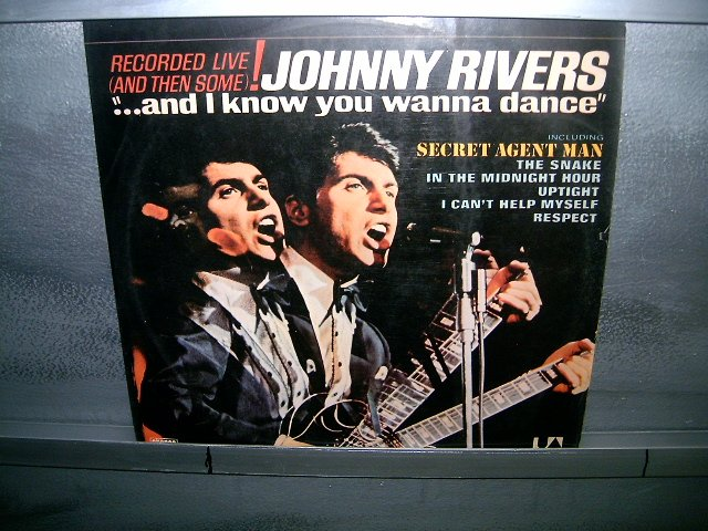 JOHNNY RIVERS and i know you wanna dance LP 1976 ROCK MUITO RARO VINIL
