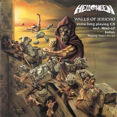 HELLOWEEN walls of jericho CD FORMATO MINI VINIL 2002 HEAVY METAL