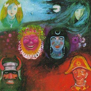 KING CRIMSON in the wake of poseidon CD FORMATO MINI VINIL 1970 PROGRESSIVE ROCK
