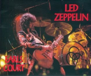 LED ZEPPELIN the complete earl's court CD + 2DVD ROCK