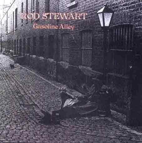 ROD STEWART gasoline alley CD FORMATO MINI VINIL 1970 ROCK
