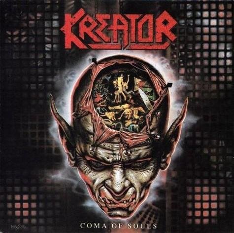 KREATOR coma of souls CD 1990 THRASH METAL