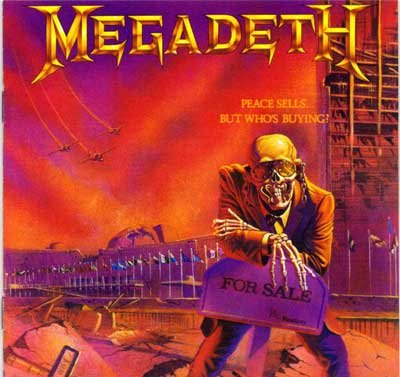 MEGADETH peace sells...but who's buying? CD 1986 THRASH METAL