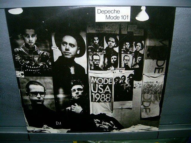 DEPECHE MODE 101 LP 1989 POP MUITO RARO VINIL