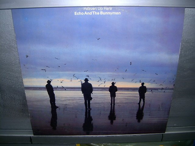 ECHO AND THE BUNNYMEN heavem up here LP 1987 ROCK SEMI-NOVO MUITO RARO VINIL