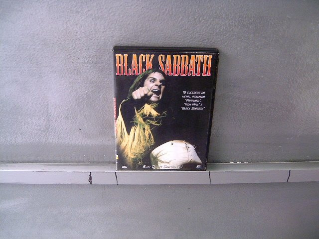 BLACK SABBATH black sabbath DVD ? HEAVY METAL