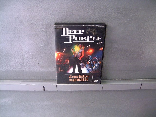 DEEP PURPLE come hell or high water DVD 2001 HEAVY ROCK
