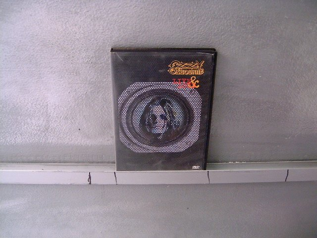 OZZY OSBOURNE live & loud DVD 1993 HARD HEAVY