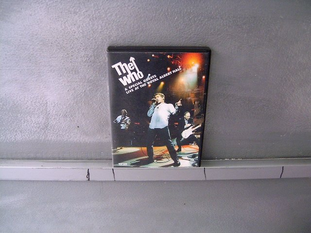 THE WHO live at the royal albert hall DVD 2001 ROCK