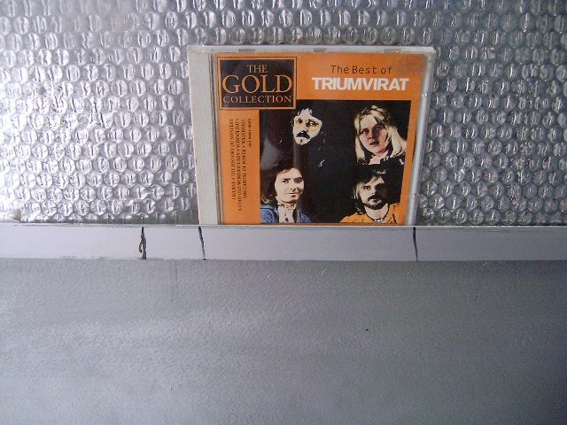 TRIUMVIRAT the gold collection CD 1996 PROGRESSIVE ROCK