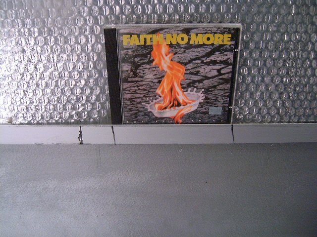 FAITH NO MORE the real thing CD 1989 ALTERNATIVE ROCK