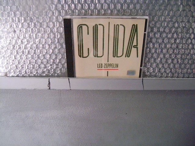 LED ZEPPELIN coda CD 1982 HARD ROCK