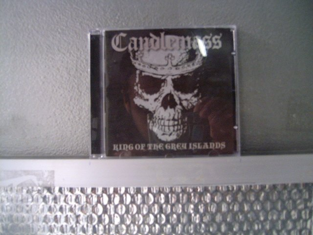 CANDLEMAS king of the grey islands CD 2007 DOOM METAL