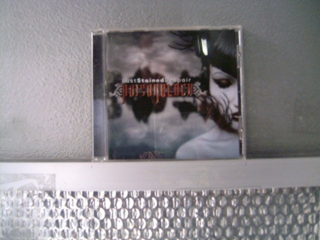 POISON BLACK lust tained despair CD 2006 GOTHIC METAL