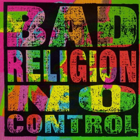 BAD RELIGION no control CD 1989 PUNK ROCK