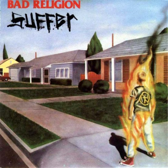 BAD RELIGION suffer CD 1988 PUNK ROCK