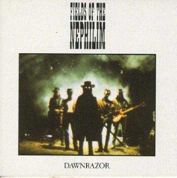 FIELDS OF THE NEPHILIM dawnrazor CD 1986 GOTHIC ROCK