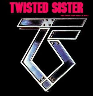 TWISTED SISTER you can stop the rock n' roll CD 1983 HARD ROCK
