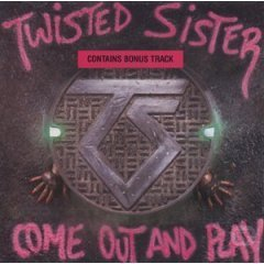 TWISTED SISTER come out and play CD 1985 HARD ROCK